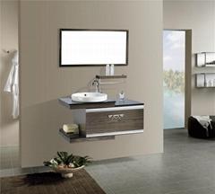 高级不锈钢浴室柜R0023