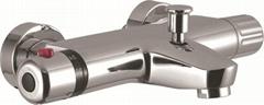 thermostatic bathtub faucet