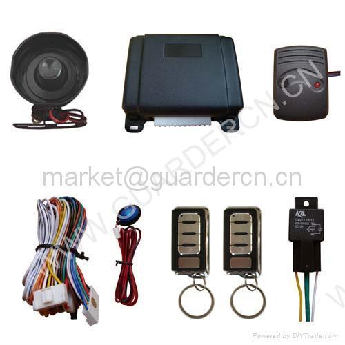 Basic Model Car Alarm System 1