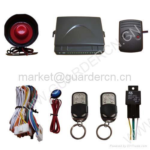 Basic Model Car Alarm System 2