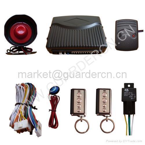 Basic Model Car Alarm System 4