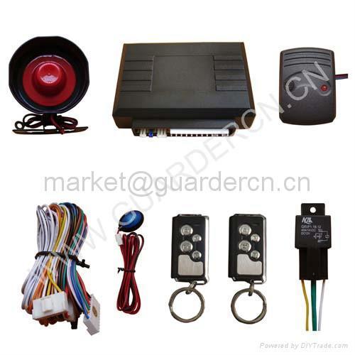 Upgraded Model Car Alarm System 1