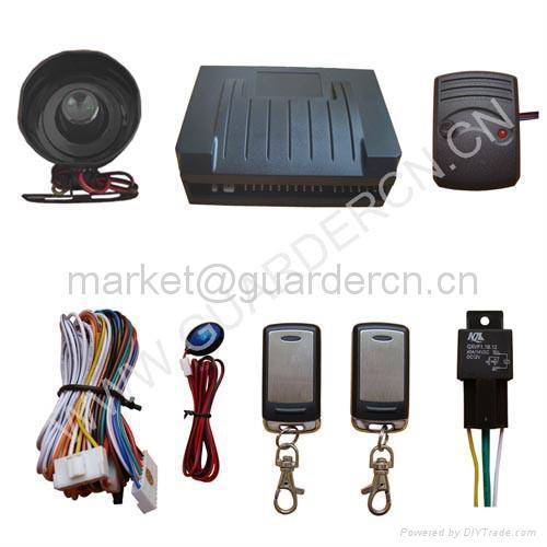 Upgraded Model Car Alarm System 2