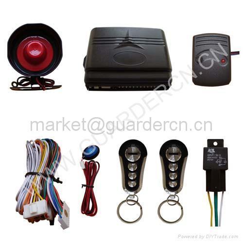 Upgraded Model Car Alarm System 4