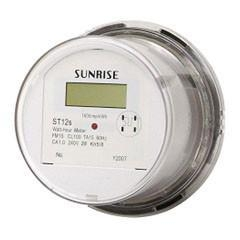 Single phase ANSI residential electricity meter