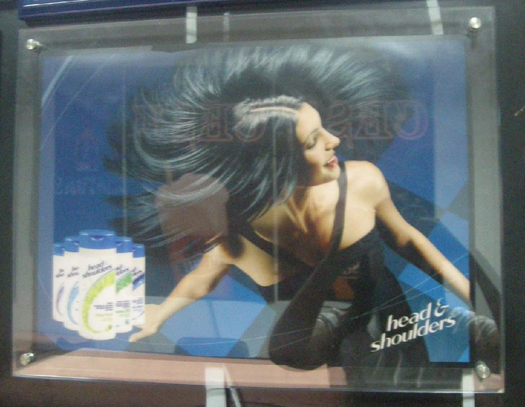 海飛絲冷光廣告 1