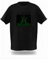 EL  冷光T恤 4