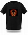 EL  冷光T恤 5