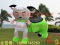 仿真动物电动车,毛绒玩具电动车 1