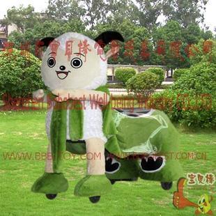 毛绒电动玩具车 2