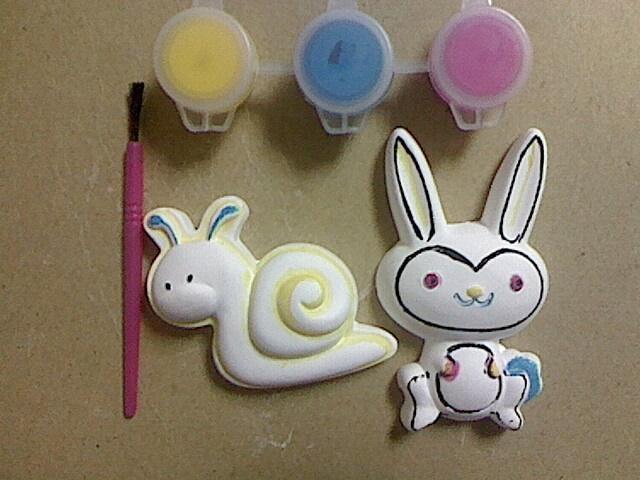 diy石膏彩绘冰箱贴 - 001 - 卡通动物 (中国) - 其它