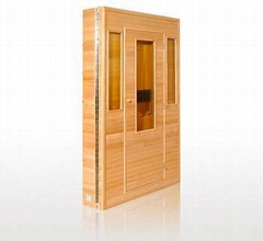 folderable and portable infrared sauna room