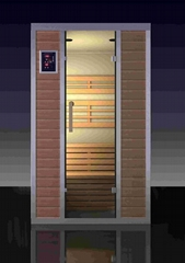 Patented 6D Total Surround far Infrared Sauna Room