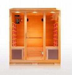 infrared sauna room,fir sauna