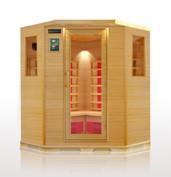 corner infrared sauna room,sauna cabin