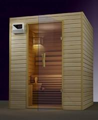traditional steam sauna room