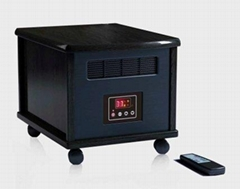 portable electronic infrared space heater