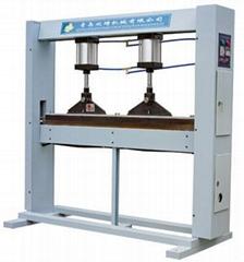 青島欣琦膠合板專用熱壓接長機