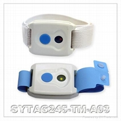SYRIS 2.45GHz Active RFID Wristband Tag