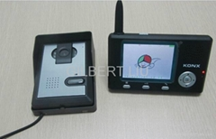 "3.5"" wireless video door"