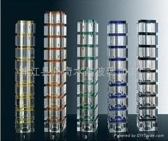 水晶玻璃柱