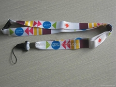Dye-Sublimation Lanyards/heat trasfer lanyards