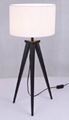 Table lamp TC shade and wooden base 1.8m cable