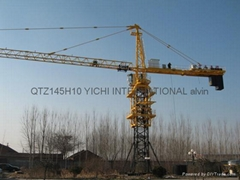 10T tower craneQTZ145F10