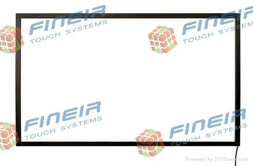 IR touch screen panel 1