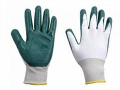 nylon nitrile coated glove