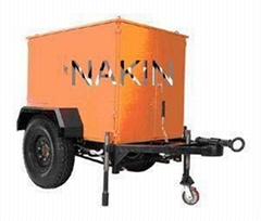 Mobile type oil purifier