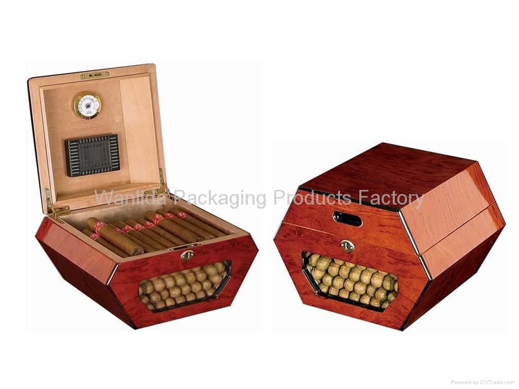 Hexagon Wood Cigar Humidorcigar Box Product Catalog China
