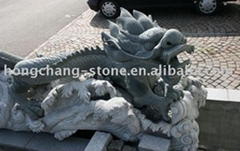 Dragon carving/dragon sculpture/granite sculpture