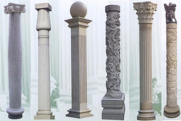 Granite Stone Columns : Stone pillar column sp china