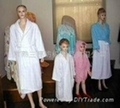 浴衣睡袍珊瑚绒、全棉毛巾 1