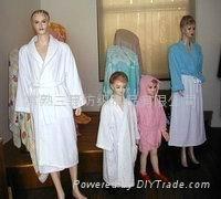 浴衣睡袍珊瑚絨、全棉毛巾