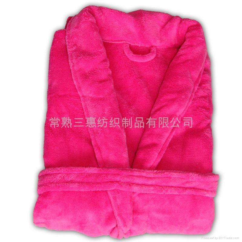 浴衣睡袍珊瑚绒、全棉毛巾 2