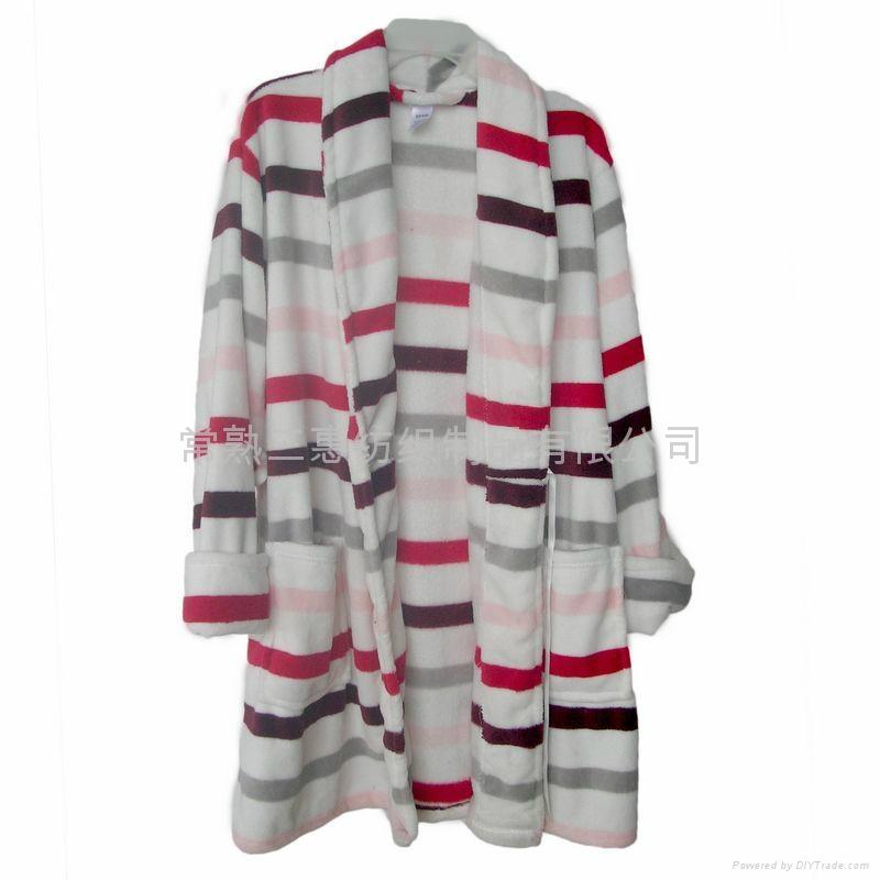浴衣睡袍珊瑚绒、全棉毛巾 3