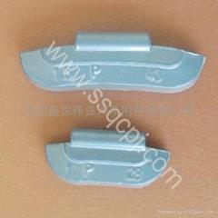 锌质卡钩式平衡块002