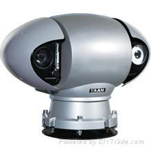 K30B-35 PTZ CCD Camera + Thermal Imaging Camera System