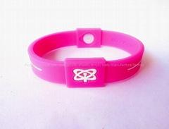 Silicon energy bracelets