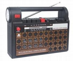 TORCH RADIO CASSETTE RECORDER
