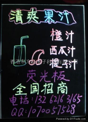 咖啡荧光板图案设计