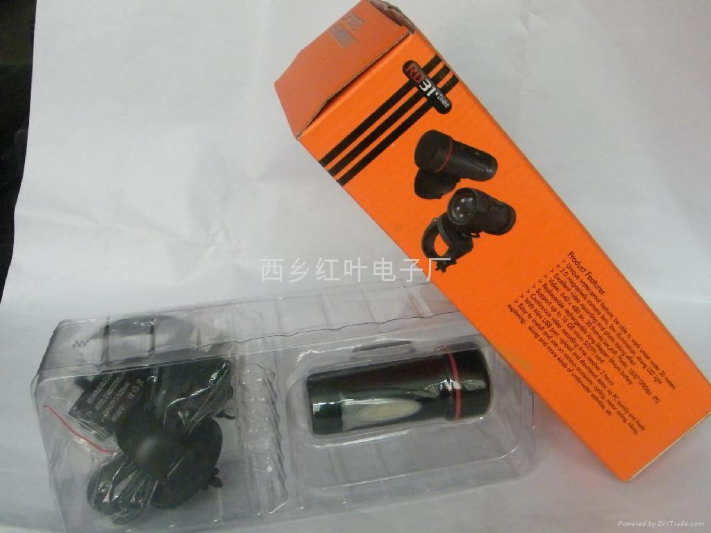 运动防水夜视(便携式)摄像机 3