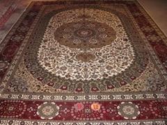 9x12 手工真丝波斯地毯