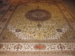 手工真丝波斯地毯
