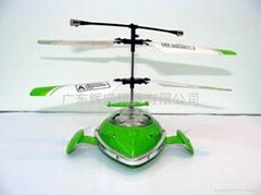 新款三通道遥控飞碟带陀螺仪