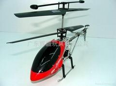 超合金遥控直升机带陀螺仪防真设计