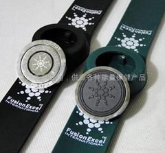 energy silica gel bracelets