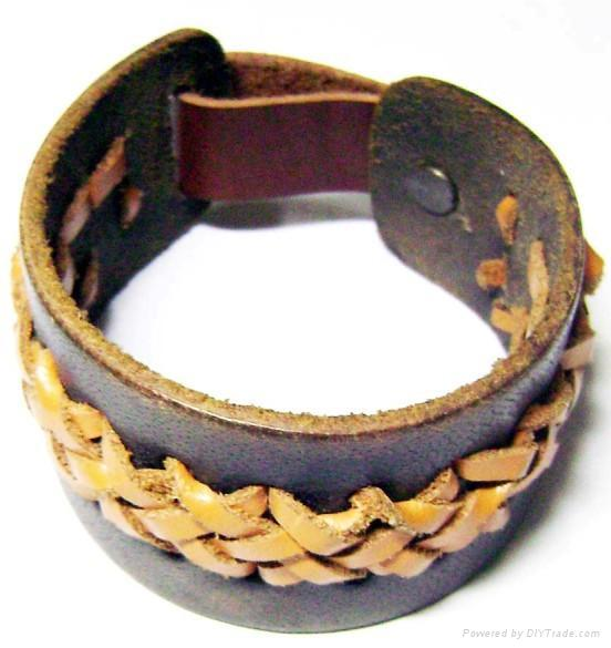 Leather jewelry, Leather Bracelet, Leather Bracelets, Stainless Steel Jewelry 2